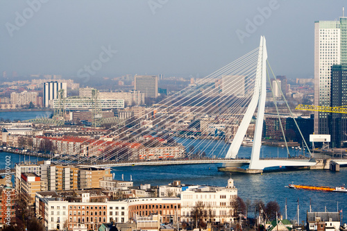 Staande foto Rotterdam Rotterdam city