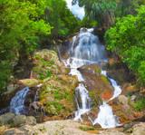 beautiful cascade waterfall - 30707675