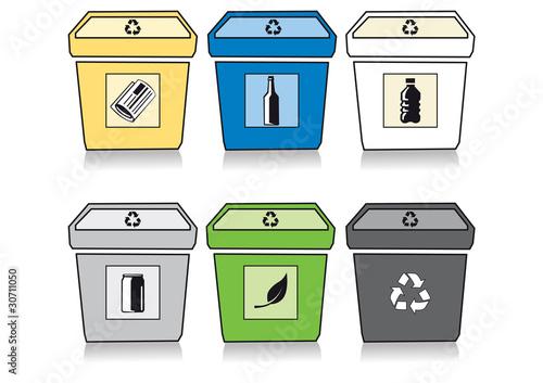 Plakaty ekologiczne selektywna-zbiorka-odpadow