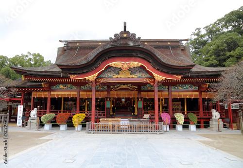 Japanese shrine in Kyushu - Dazaifu Tenmangu Fototapeta