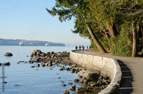 Naklejka premium Vancouver Seawall