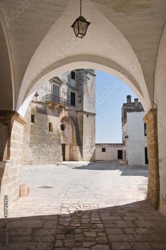 Fototapeta St. Vito martyr Abbey. Polignano a Mare. Apulia. obraz na płótnie