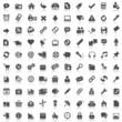 100 Black Webicons