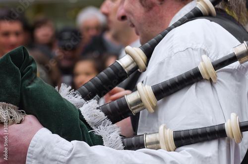 cornemuse,pipe,biniou,bagad,bretagne,irlande Fototapete