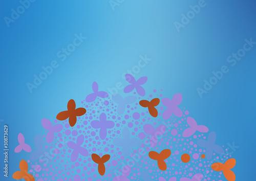 Tuinposter Vlinders グラフィックパターン