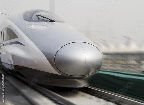 Plakaty pociągi   nowoczesny-pociag