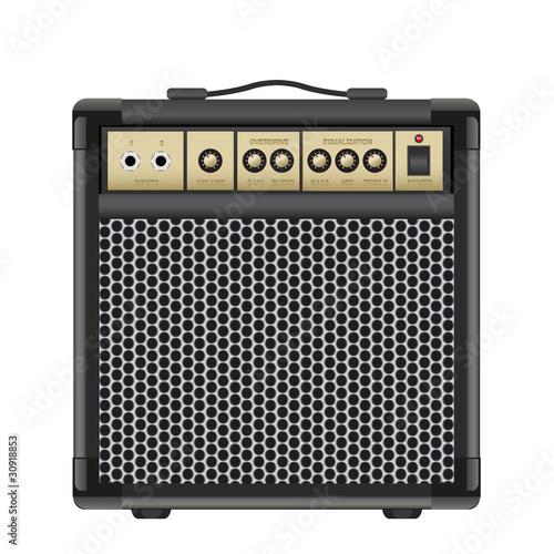 Slika na platnu Guitar Combo
