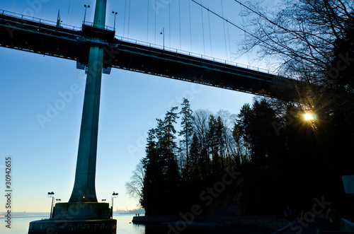 First Narrows Bridge фототапет
