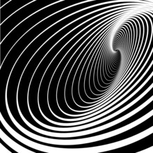 Spiral Whirl Movement. Abstrac...