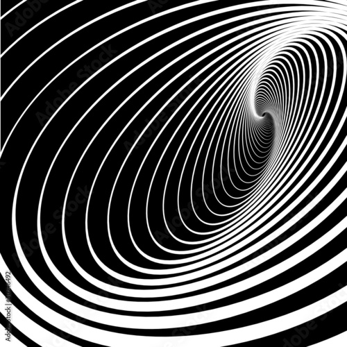 Wall Murals Psychedelic Spiral whirl movement. Abstract background.
