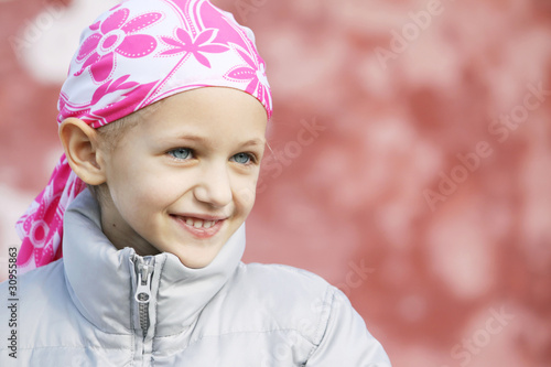 Fotografie, Obraz  child with cancer
