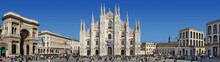 Panorama Piazza Del Duomo - Milano