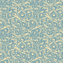 Blue Decoretive  Background