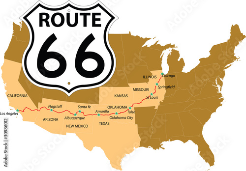 Photo  Route 66