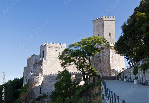 Fotografie, Obraz  erice castello
