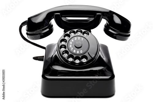 Obraz na plátně Retro Telefon 3
