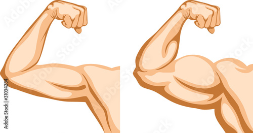 Cuadros en Lienzo Hand Before and After fitness
