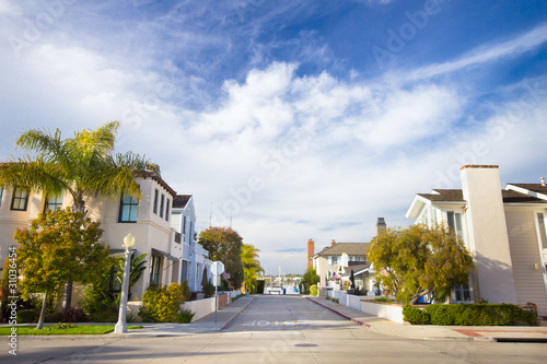 Fotografie, Obraz  Homes in Affluent Southern California Community