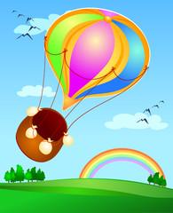 Slijetanje balonom