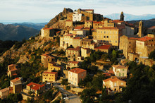 Late Afternoon Lights In Speloncato Village, Corsica