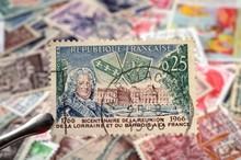 Timbres - Bicentenaire De La Réunion De La Lorraine Et Du Barrois Avec La France 1766/1966 - Philatélie France