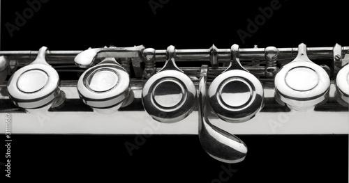 Fotografija detail of flute