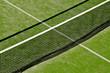 canvas print picture - tennis court