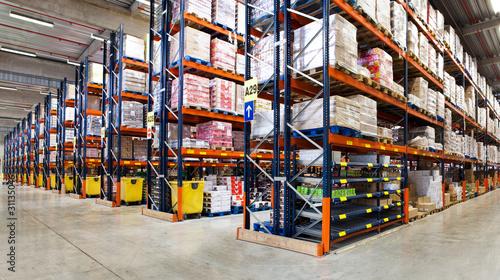 Photo Entrepôt logistique