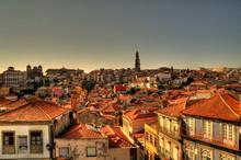 HDR Cityscape Of Porto, Portugal
