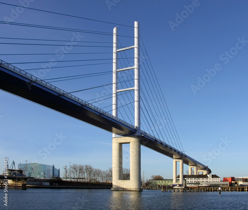 Fotografie, Tablou  Brücke zur Insel Rügen (Mecklenburg-Vorpommern) 02