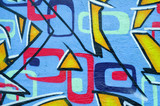 segment of graffiti on a wall