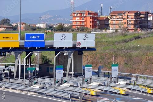 Photo Barriera autostradale