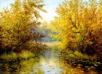 Obraz Wood lake