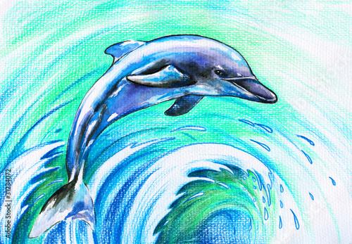 skaczacy-delfin