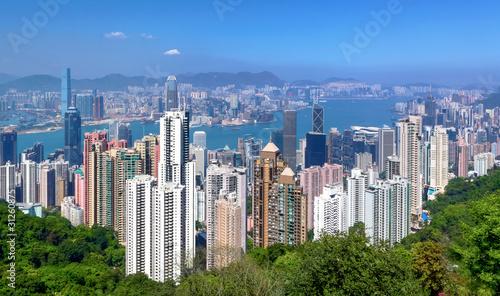 Foto auf AluDibond Hongkong Hong Kong