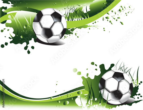 zielony-pilkarski-banner