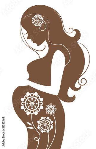 Фото беременной пары дома 15