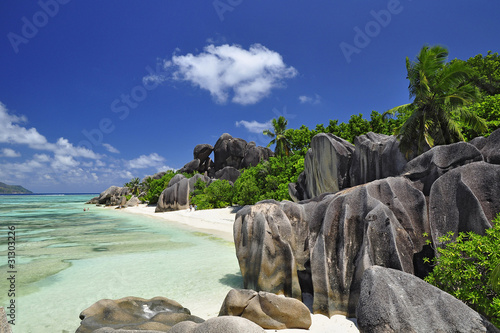 Foto Rollo Basic - La Digue, Anse Source d'Argent (von joerg_MUC)