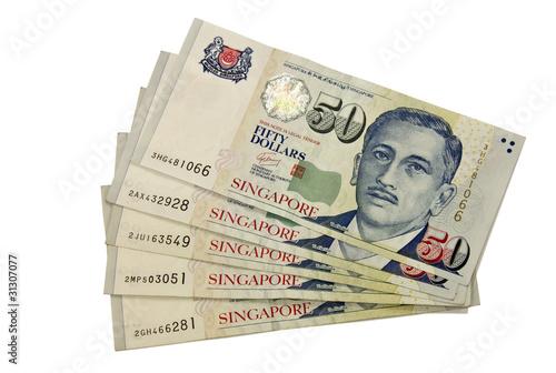 Photo  Fifty Singapore dollars