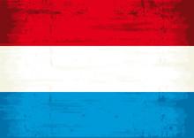 Dutch Grunge Flag