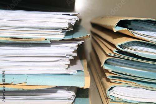 Burocrazia Fototapeta