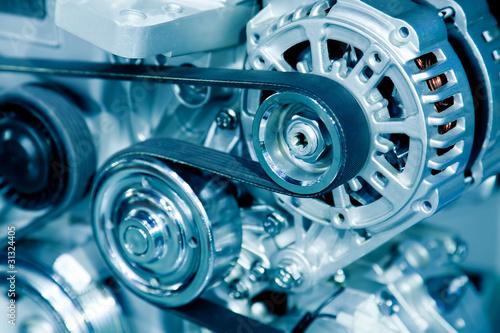 Fotografía  Car engine