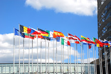 Europarliament. Flags Of The C...