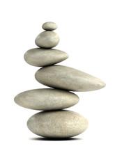 3d Balancing Stones