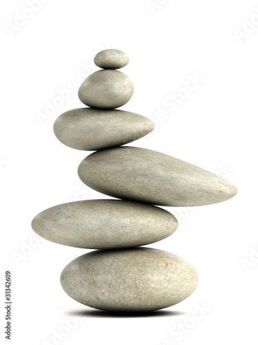 Photo  3d Balancing stones