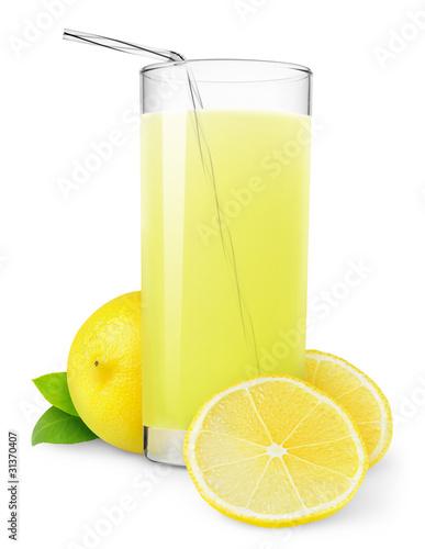 Obraz na plátne Isolated drink