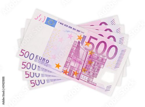 Fotografia  Money - 500 Euro