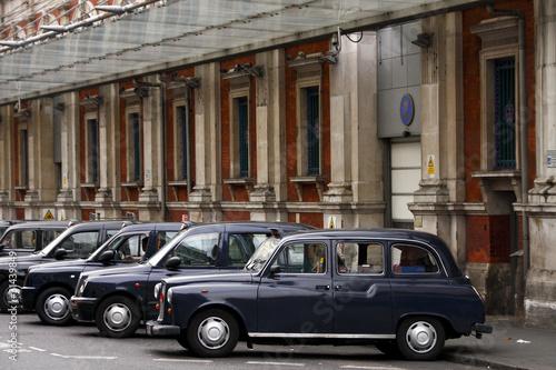 Türaufkleber Autos aus Kuba London Taxi