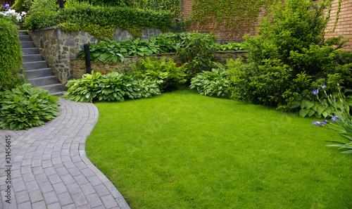 Aluminium Prints Garden Garden