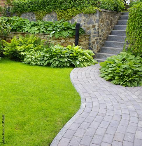Foto-Kassettenrollo premium - Garden